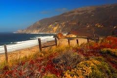 Plage de la Californie Photos libres de droits