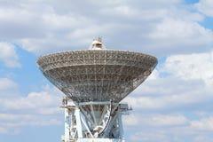 Grand télescope électronique Images libres de droits