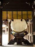 Grand tambour de taiko Photographie stock libre de droits