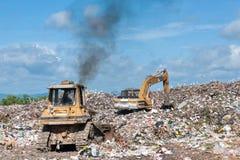 Grand tas de grabage Photos stock