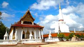 Grand Temple, Nakhon Si Thammarat. Grand temple and Grand pagoda Royalty Free Stock Photography