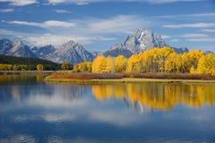 Grand teton autumn Stock Image