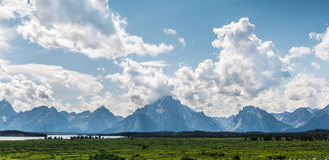 Grand Teton. It is beautiful Royalty Free Stock Photography
