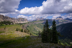 Grand Teton Hiking Trail 3 royalty free stock photos
