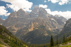 Grand Teton from Lake Solitude Royalty Free Stock Images