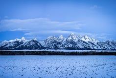 Grand Teton Landscape Royalty Free Stock Photo