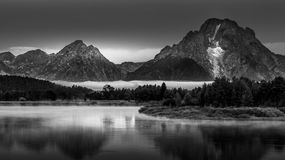 Grand Teton Landscape Oxbow Bend Stock Photography