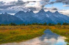 Grand Teton Lanscape Stock Images