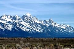 Grand Teton mountain. In Grand Teton National Park, Wyoming, U.S.A Royalty Free Stock Photo