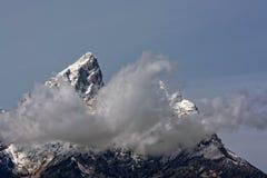 Grand Teton Mountain Range Royalty Free Stock Photo