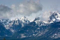 Grand Teton mountain range Royalty Free Stock Image