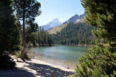 Grand Teton Mountains Stock Photography