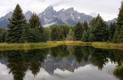 Grand Teton mountains Royalty Free Stock Images