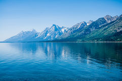 Grand Teton Mountains Royalty Free Stock Photography