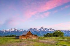 Grand Teton Mountains, Wyoming. Stock Photo