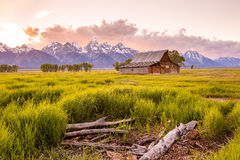 Grand Teton Mountains, Wyoming. Royalty Free Stock Image