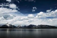 Grand Teton National Park. Jackson Lake, Grand Teton Range, Wyoming Royalty Free Stock Photography