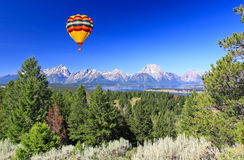 The Grand Teton National Park Stock Photography