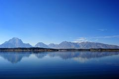 Grand Teton National Park in autumn Royalty Free Stock Images