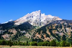 Grand Teton National Park just south of Yellowstone National Park Beautiful Mountains. Grand Teton National Park just south of Yellowstone National Park, These royalty free stock photo