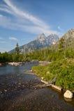 Grand Teton National park landscape Stock Photography