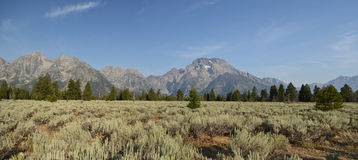 Grand Teton National park landscape Stock Photo