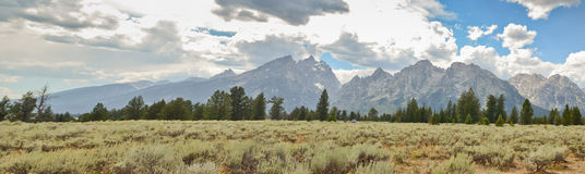 Grand Teton National park landscape Royalty Free Stock Images