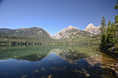 Grand Teton National park landscape Stock Photography