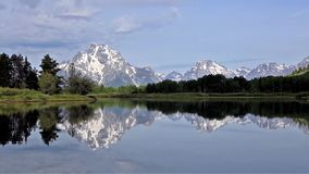 Grand Teton National Park: Oxbow Bend stock footage