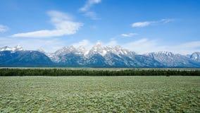 Grand Teton National Park. Grand Teton Range , Grand Teton National Park, America Stock Photography