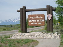 Grand Teton National Park Royalty Free Stock Photography