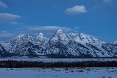 Grand Teton National Park Sunrise Stock Photos