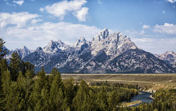 Grand Teton National Park Stock Image