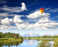 The Grand Teton National Park Stock Photo