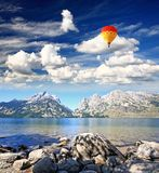 The Grand Teton National Park Stock Image