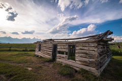 Grand Teton National Park view royalty free stock photography