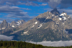 Grand Teton National Park in Wyoming Royalty Free Stock Image