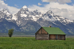 Grand Teton National Park, Wyoming Royalty Free Stock Photos