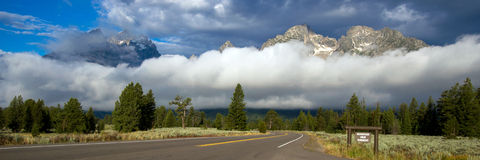 Grand Teton National Park in Wyoming Stock Photography
