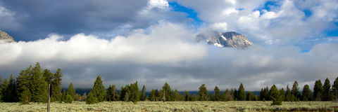 Grand Teton National Park in Wyoming Royalty Free Stock Photos