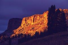 Grand Teton. National Park, Wyoming, USA. Instagram filter Royalty Free Stock Photo