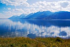 Grand Teton Park Royalty Free Stock Photography