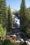 Grand Teton Park  waterfall Royalty Free Stock Photos