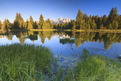 Grand Teton Peaks Royalty Free Stock Images