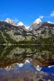 The Grand Teton Range stock photos