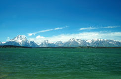 Grand teton range Stock Photography