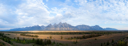 Grand Teton Range Stock Image