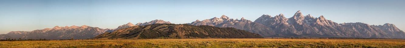 Grand Teton at sunrise Stock Images
