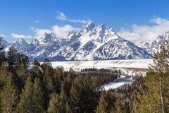 The Grand Teton Royalty Free Stock Photo