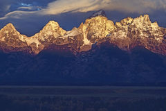 Grand Teton, Wyoming Royalty Free Stock Images